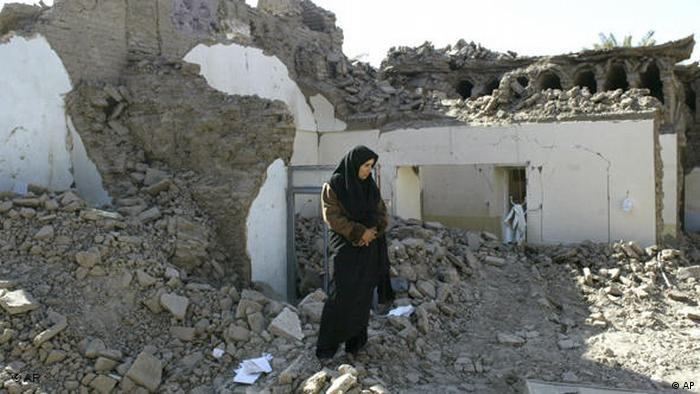 Flash-Galerie Erdbeben Iran 2003