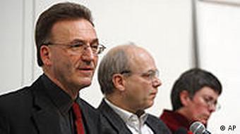Штефан Дартман (слева) и Клаус Мертес