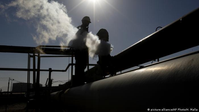 Libyen Nordafrika Öl Raffinerie