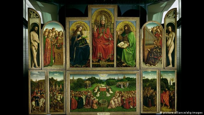 Ghent Alter by Jan van Eyck (picture-alliance/akg-images)