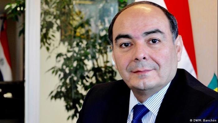 Antonio Rivas   Außenminster von Paraguay