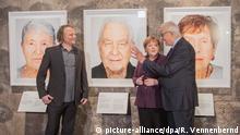 Essen | Ausstellungdöerffnung Survivors zu Holocaust-Überlebenden: Angela Merkel