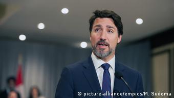 Kanada Premierminister Justin Trudeau (picture-alliance/empics/M. Sudoma)