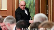 Russland Putin präsentiert neue Regierungsmannschaft - Außenminister Lawrow bleibt im Amt