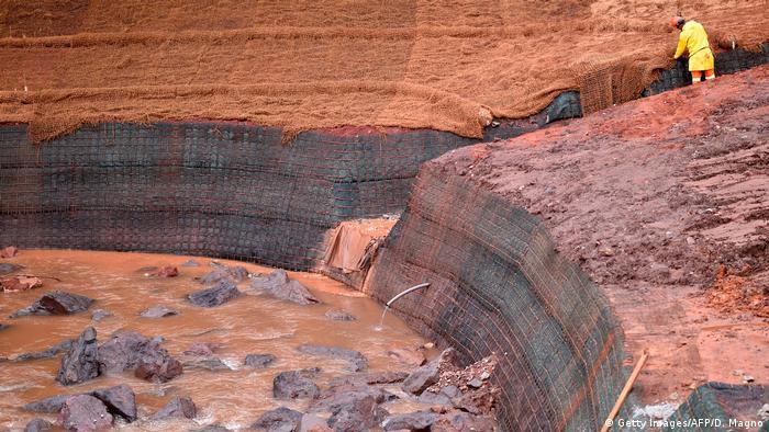 Rompimento da barragem de Brumadinho