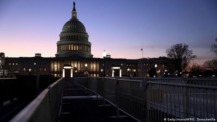 The Capitol in Washington (Getty Imaes/AFP/C. Somodevilla)