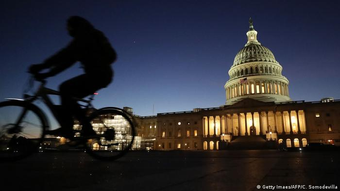 USA Das Kapitol in Washington (Getty Imaes/AFP/C. Somodevilla)