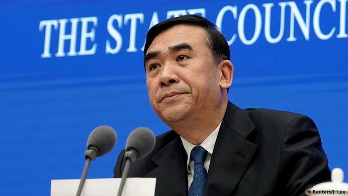 Minister Li Bin (Reuters/J. Lee)
