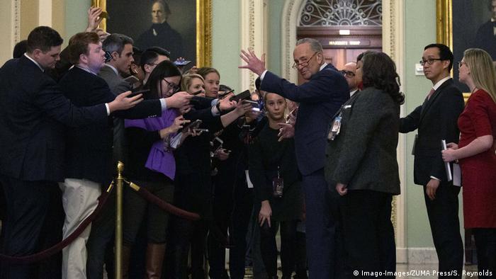 Impeachment: Erstes Ringen im US-Senat