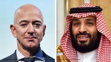 Bildkombo Jeff Bezos Mohammed bin Salman