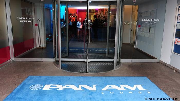 The Pan Am Lounge in Berlin