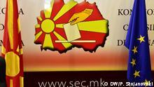 Nord-Mazedonien Wahlkommission DW, Petr Stojanovski