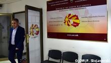 Nord-Mazedonien Wahlkommission | Oliver Derkoski, Präsident der Wahlkommission