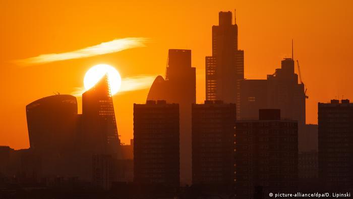 Sonnenuntergang London