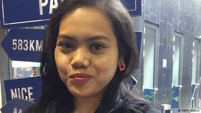Indonesien Monique Rijkers, Bloggerin (DW/M. Rijkers)