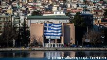 Griechenland volle Migrantenlager