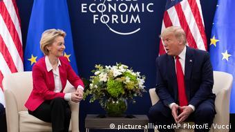 Weltwirtschaftsforum 2020 in Davos | Ursula von der Leyern & Donald Trump