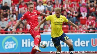 Brondby faced Bundelsiga side Union Berlin in a friendly last year