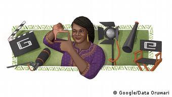 Google Doodle Amaka Igwe (Google/Data Oruwari)