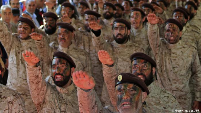 شبهنظامیان حزبالله در لبنان