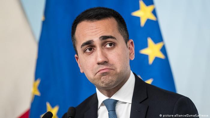 Italien 5 Sterne-Chef Di Maio