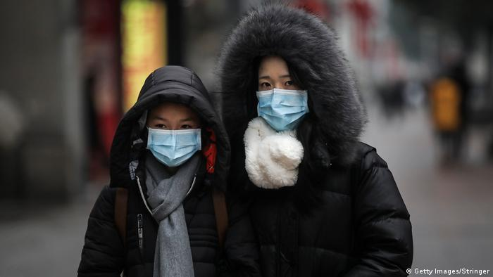 Ausbrüche der Coronavirus-Pneumonie in China (Getty Images/Stringer)
