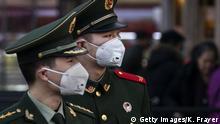 Ausbrüche der Coronavirus-Pneumonie in China