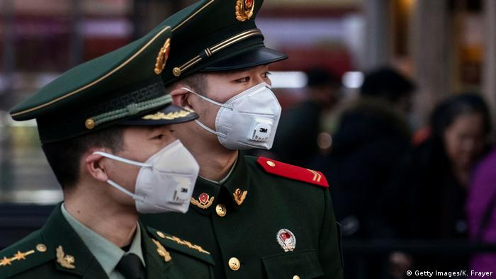 Ausbrüche der Coronavirus-Pneumonie in China (Getty Images/K. Frayer)