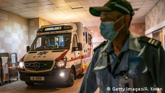 Ausbrüche der Coronavirus-Pneumonie in China (Getty Images/A. Kwan)