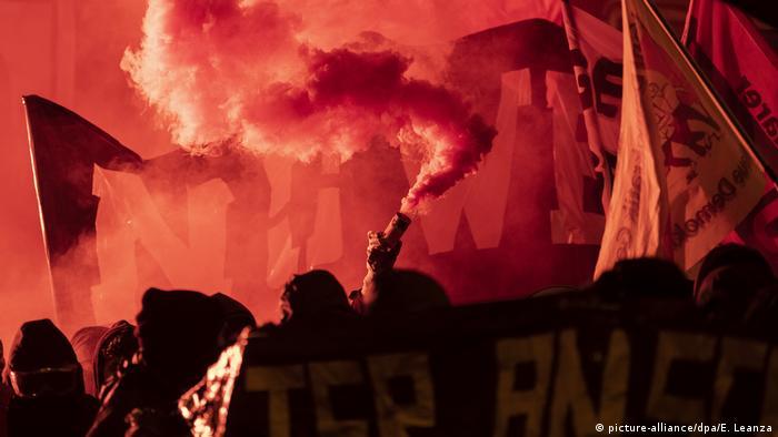 Протесты антиглобалистов в Цюрихе