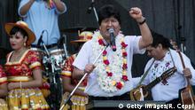 Argentinien: Boliviens Ex-Präsident Evo Morales in Buenos Aires