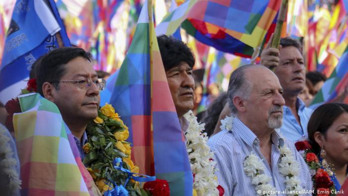En Buenos Aires, Luis Arce se reunió con el exmandatario Evo Morales.