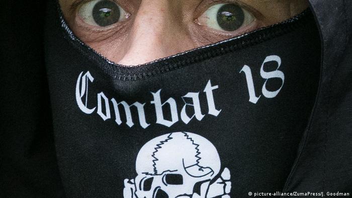 Combat 18 зокрема розповсюджували у Німеччині правоекстремістську символіку