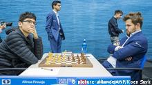 Tata-Steel-Schachturnier 2020 | Alireza Firouzja, Iran vs. Magnus Carlsen, Norwegen