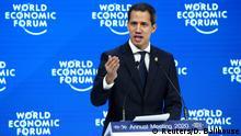 Weltwirtschaftsforum 2020 in Davos | Juan Guaidó, Oppositionsführer Venezuela