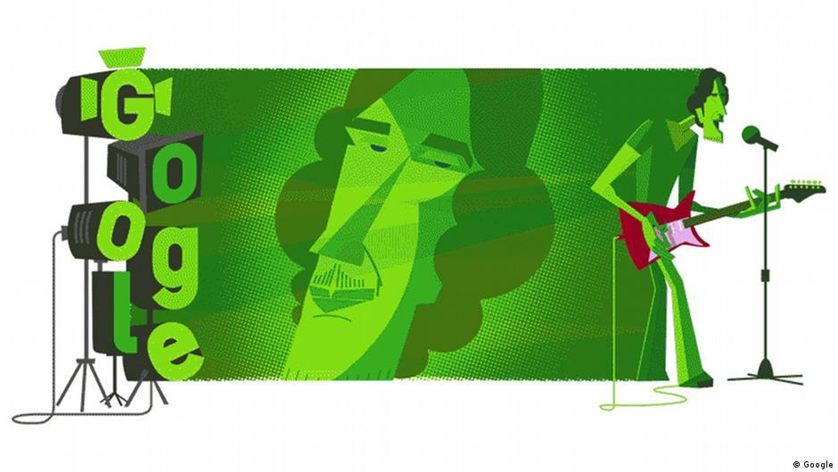Google dedica su ″doodle″ a Luis Alberto Spinetta, mito del rock argentino | Las noticias y análisis más importantes en América Latina | DW | 23.01.2020
