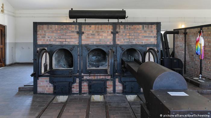 Crematorio de lo que fue el campo de exterminio nazi de Buchenwald, en Turingia.