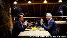 Richard Grenell und Hashim Thaci