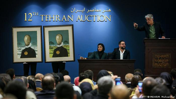 دوازدهمین دوره از حراج تهران عصر روز جمعه ۲۷ دی (۱۷ ژانویه) در هتل پارسیان آزادی برگزار شد. مجموع فروش ۳۱ میلیارد و ۷۱۷ میلیون تومان اعلام شد و گرانترین اثر فروختهشده نیز متعلق به حسین زندهرودی با قیمت ۳ میلیارد و ۲۰۰ میلیون تومان بود.