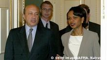USA | US-Sicherheitsberaterin Condoleezza Rice mit Igor Ivanov