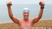 Lewis Pugh Antarktis Schwimmen