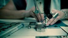 DW Sendung Fokus Europa Nordmazedonien Textilindustrie