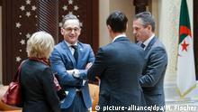 Algerien Algier | Außenminister-Treffen mit Nachbarländern Libyens
