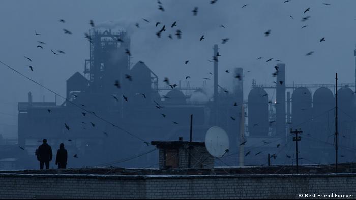 Кадр з фільму Атлантида