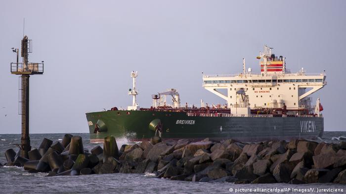 Litauen   norwegischer Öltanker Breiviken