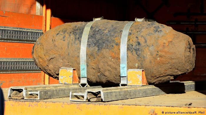 A World War II bomb discovered in Cologne