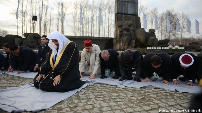 Polen Besuch Gedenkststätte Auschwitz Abdulkarim Al-Issa (Getty Images/AFP/B. Siedlik)