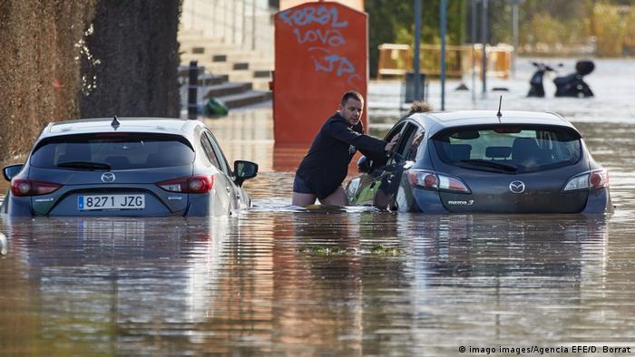 Підтоплення у каталонській Жироні, 23 січня 2020 року