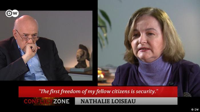 DW Conflict Zone mit Nathalie Loiseau