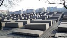 Deutschland Stadt Berlin - Denkmal für die ermordeten Juden Europas 4